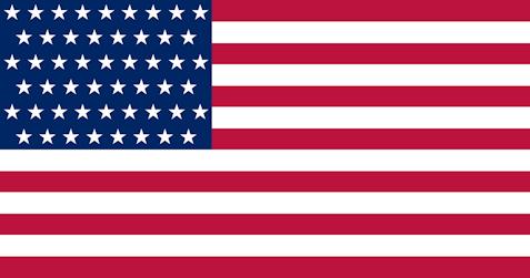 US flag 51 stars